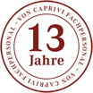 13 Jahre von Caprivi - Fachpersonal